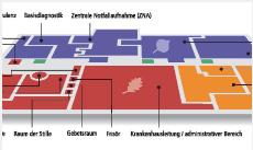 Dieses Bild zeigt eine schematische Darstellung eines Übersichtsplanes des Standorts Bad Homburg.