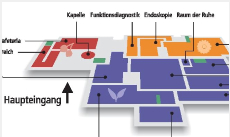 Dieses Bild zeigt eine schematische Darstellung eines Übersichtsplanes des Standorts Usingen.