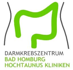 Dieses Bild zeigt das Logo des Darmkrebszentrums der Hochtaunus-Kliniken Bad Homburg.