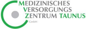Dieses Bild zeigt das Logo des Medizinischen Versorgungszentrum Taunus, abgekürzt MVZ.