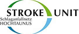 Dieses Bild zeigt das Logo der Stroke Unit vom Schlaganfallnetz Hochtaunus.