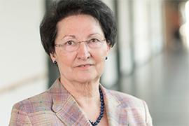 Dieses Bild zeigt ein Portrait von Frau Rosemarie Steinkamp