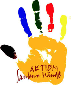 Dieses Bild zeigt das Logo der Aktion saubere Hände.