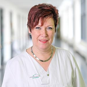 Dieses Bild zeigt ein Portrait von Frau Ute Adamek.