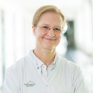 Dieses Bild zeigt ein Portrait von Frau Dr. med. Sabine Reusch