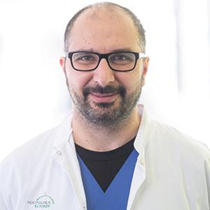 Dieses Bild zeigt ein Portrait von Herrn Dr. med. Walid Mahmud.