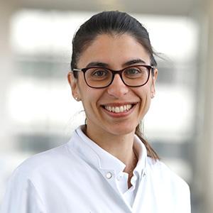 Dieses Bild zeigt ein Portrait von Frau Dr. med. Anastasia Falagkari