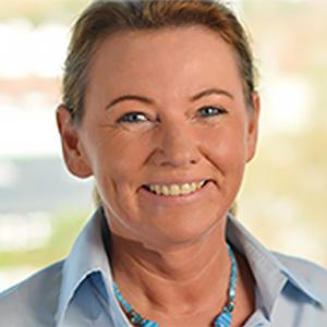 Dieses Bild zeigt ein Portrait von Frau Monika Wuscher