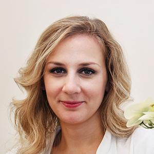 Dieses Bild zeigt ein Portrait von Frau Yoana Hristova