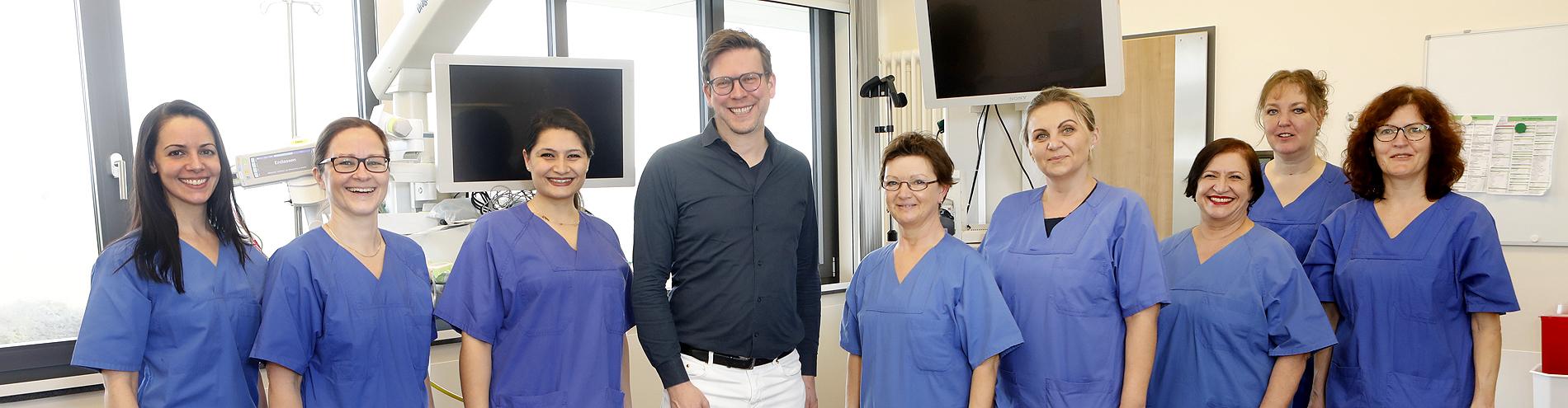 Bild passend zu Unser Team der Endoskopie