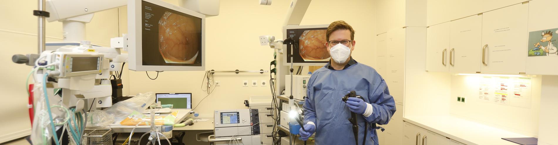 Bild passend zu Schwerpunkte der Endoskopie