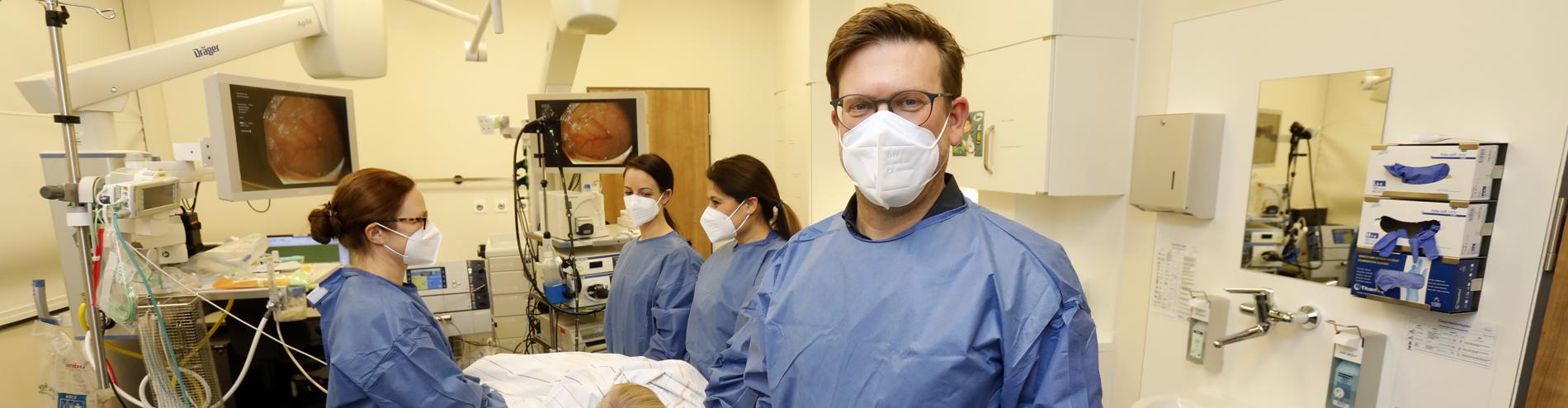 Bild passend zu Sektion Endoskopie