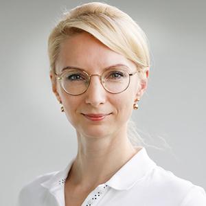 Dieses Bild zeigt ein Portrait von Frau Dr. med. Migle Link