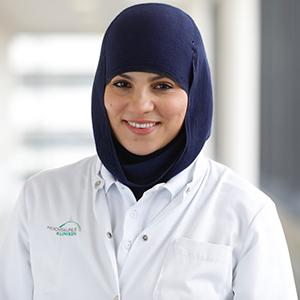 Dieses Bild zeigt ein Portrait von Frau Nadia El Hadouchi