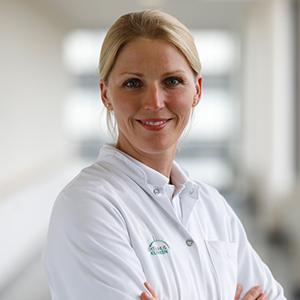 Dieses Bild zeigt ein Portrait von Frau Dr. med. Heike Hildenbrand